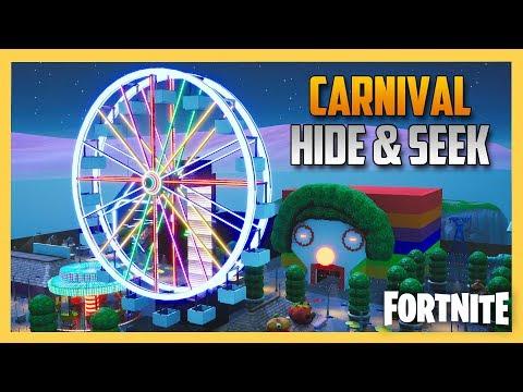 Carnival Hide And Seek In Fortnite Creative! | Swiftor
