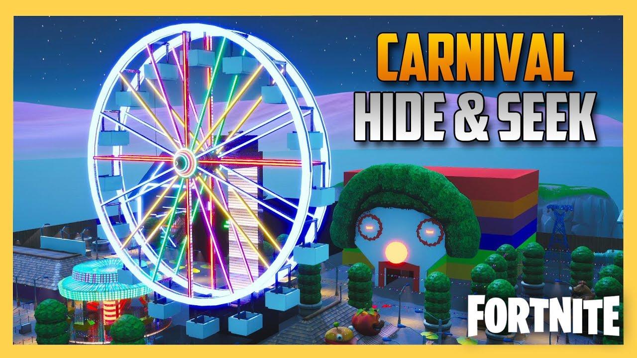 Carnival Hide and Seek in Fortnite Creative! | Swiftor ...