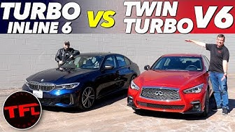 0-60 MPH Buddy Review: Can The Less Powerful BMW M340i Keep Up With The 400 HP Infiniti Q50S!?
