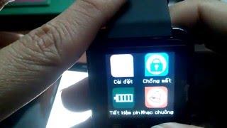 Đập hộp đồng hồ thông minh smart watch U8 có Tiếng Việt 480k