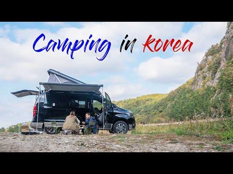 Van life in Korea   Hyundai Campervan Unicamp