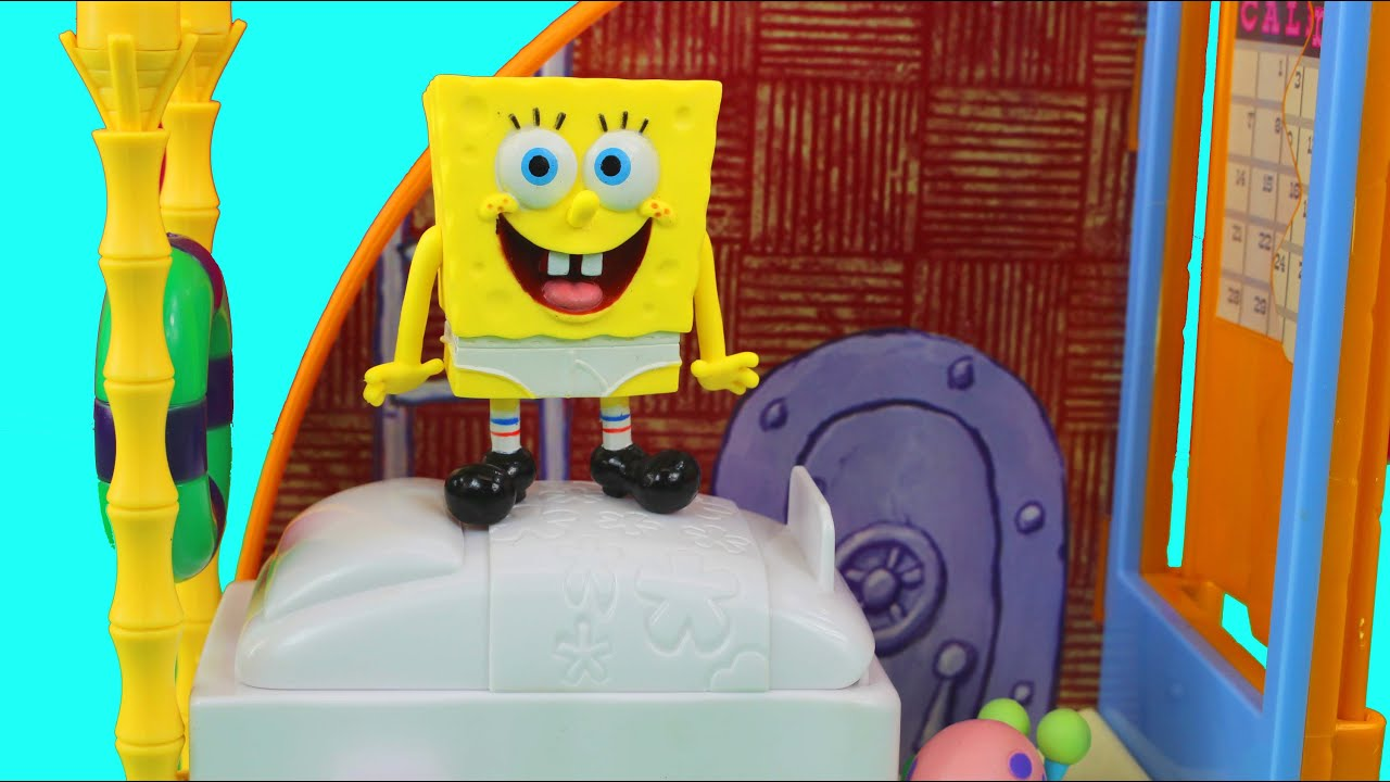 Spongebob Squarepants Spongebob S Bedroom Amp The Krusty