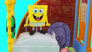 Spongebob Squarepants Spongebob's Bedroom & The Krusty Krab Sets