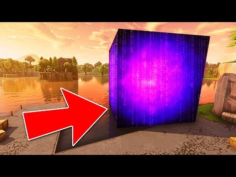 *NEW* FORTNITE CUBE IN LOOT LAKE! *FINAL EVENT*