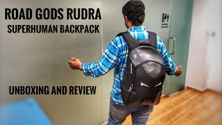 ROAD GODS RUDRA Backpack  UNBOXING AND REVIEW