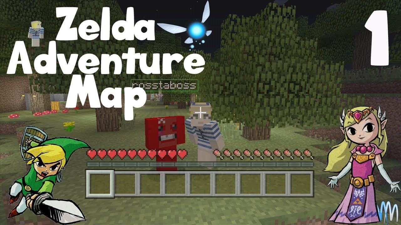 Minecraft Xbox: The Legend of Zelda Adventure Map - Hyrule Fishing ...