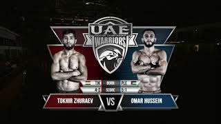 Omar Hussein vs Tohir Zhuraev - UAE Warriors 8 | Full Fight
