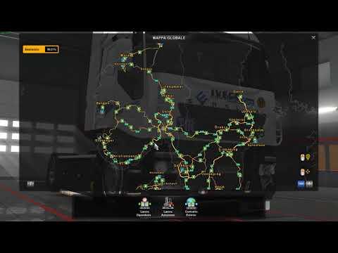 Euro Truck Simulator 2 My combination map (North Map, Romania Map, Scandinavia ecc..)