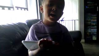 Ashton singing
