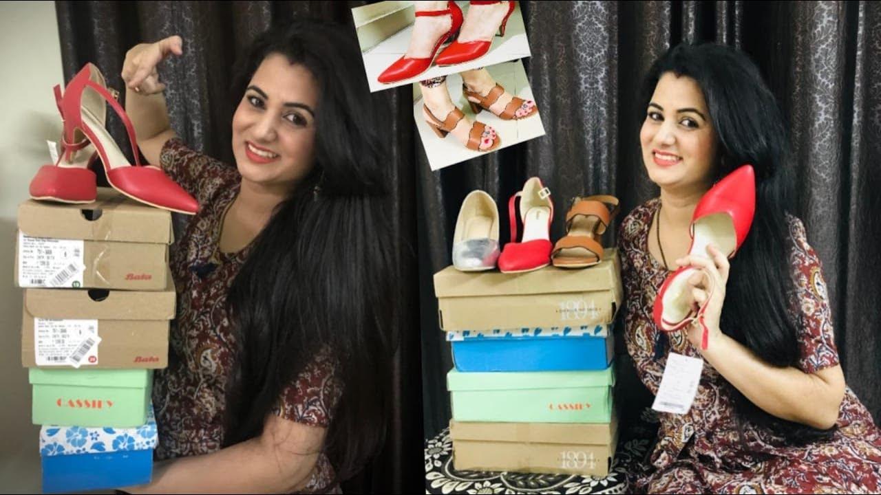 💥Amazon Shopping Haul💥||  Stylish Footwear Haul || Bata Sandals/Heels Review || Beginners Creativity
