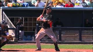 Miami Marlins Spring Training Highlights 2012