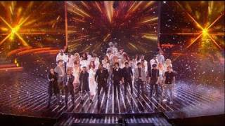Whoop! It's the X Factor charity single - The X Factor 2011 Live Results Show 8 - itv.com/xfactor
