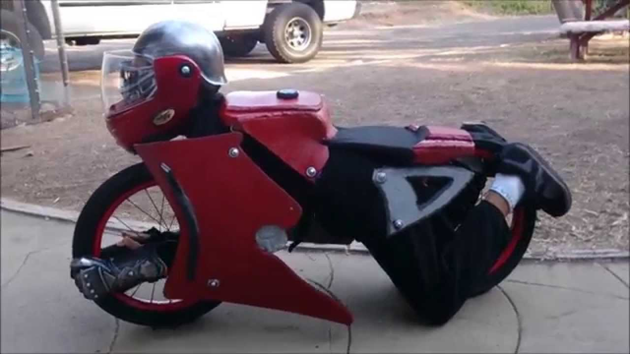 Wait For It Best Home Made Transformer Motorcycle