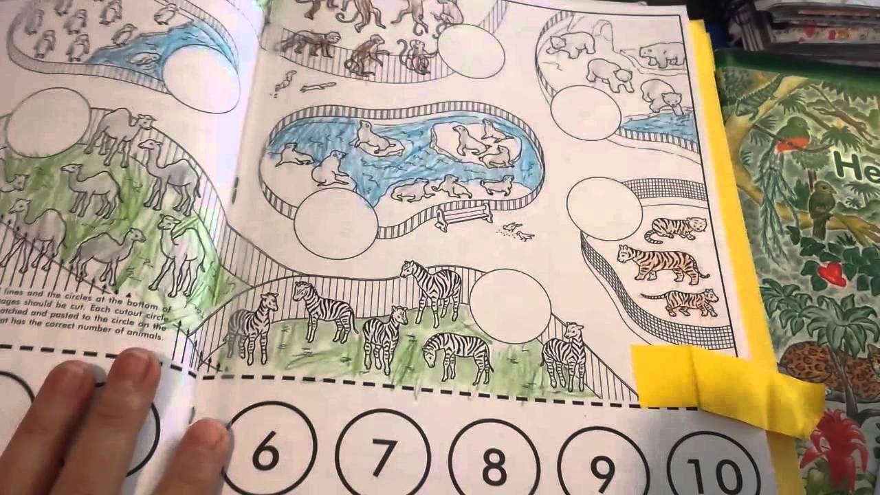 Workbooks rod and staff workbooks : Rod and staff ABC series for kindergarten - YouTube