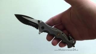Böker Magnum Smokejumper SWAT Res-Q Taschenmesser Rettungsmesser 01RY769