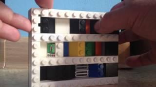 (100 подписчиков!) Как сделать дверь для лего сейфа