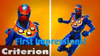 Fortnite Criterion Skin-First Impressions!