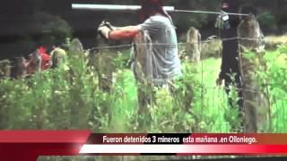 Mineros detenidos en Olloniego-Asturias !! #ResistenciaMinera.