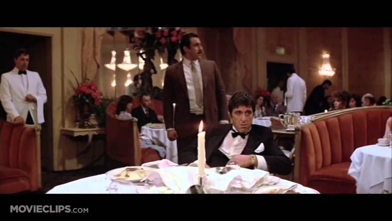 Scarface 5 8 Movie Clip Say Goodnight To The Bad Guy 1983 Hd Youtube