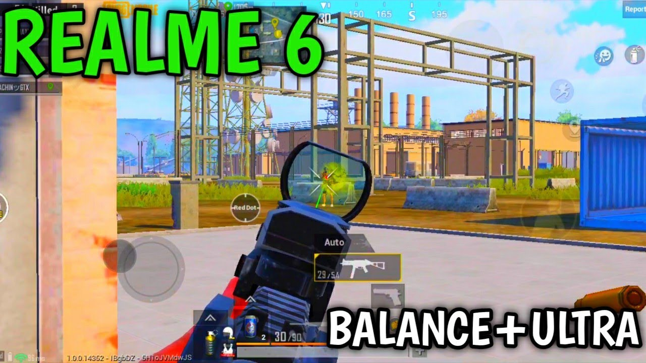 REALME 6 PUBG GAMEPLAY | BALANCE+ULTA 40FPS | REALME 6 PUBG REVIEW ! AFTER REALME 7 LAUNCH