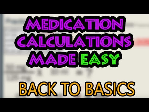 How To Do Medication Dosage Calculations (Basics)