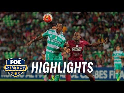 Santos Laguna vs. Deportivo Saprissa | CONCACAF Champions League Highlights
