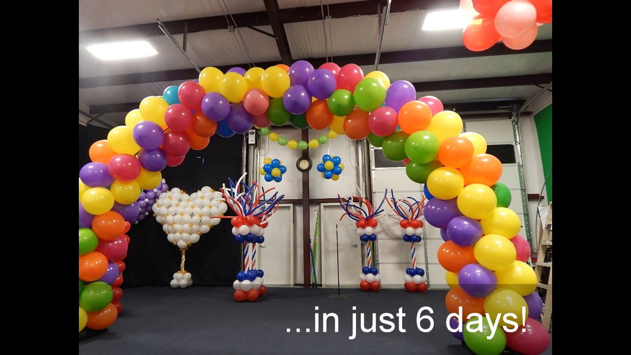 High Quality Balloon Decorating Classes | Learn Balloon Decorating At Balloon Decorating  Institute