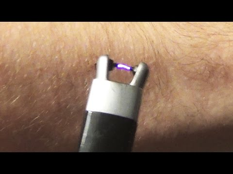 Plasma lighter as a taser?