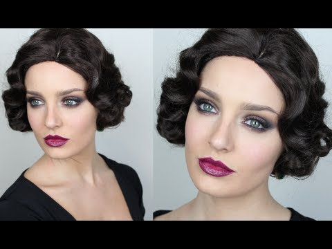 Vintage Inspired Great Gatsby Makeup