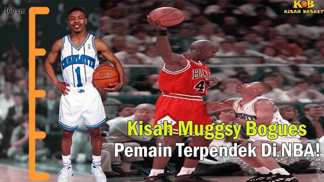 Kisah Basket Episode 54: Cerita Muggsy Bogues Pemain Terpendek Sepanjang Sejarah NBA