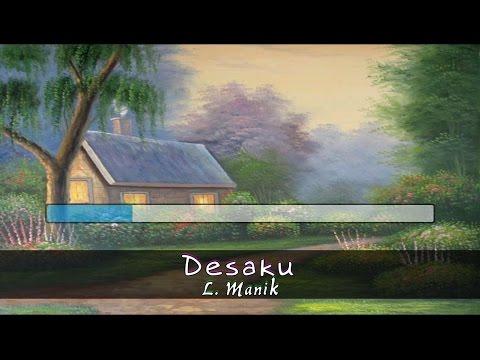 [Midi Karaoke] ♬  L. Manik - Desaku ♬ +Lirik Lagu +Tanpa Vokal [High Quality Sound]