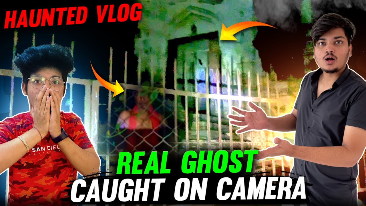 Going At Most Haunted Place In Delhi😱    Real Ghost Caught On Camera😭#VLOG 58 - Two Side Gamers