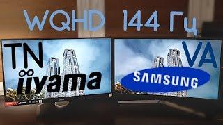 WQHD Монитор IIYAMA с TN матрицей или Samsung с VA ?
