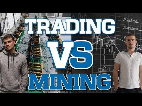 TRADING VS MINING DE CRYPTO - Hasheur & Capetlevrai