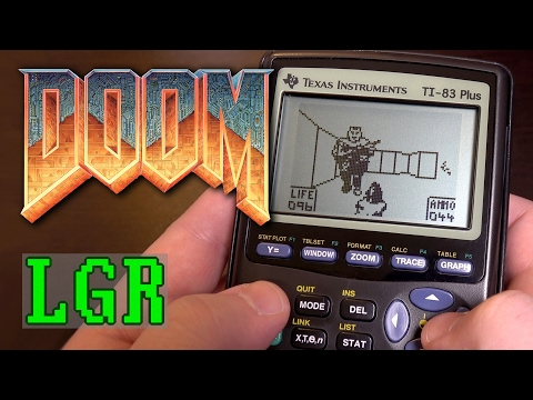 "LGR - ""Doom"" on a Calculator! (Ti-83 Plus Gaming)"