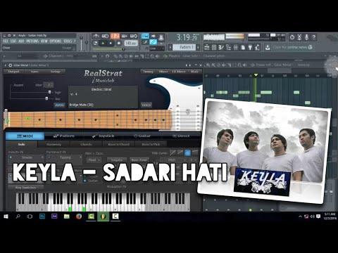 Keyla - Sadari Hati (Karaoke) FL Studio