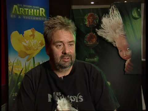 with Luc Besson