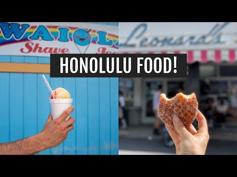 Waikiki + Hawaiian Food | Oahu, Hawaii Day 3