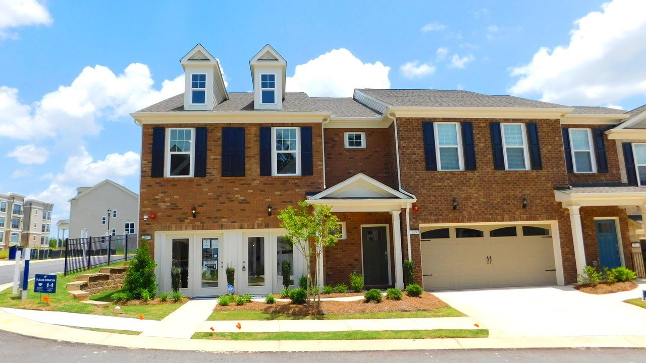 INSIDE A DECORATED MODEL TOWNHOME N. OF ATLANTA - B.P $251,990