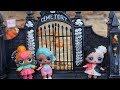 LOL SURPRISE DOLLS Go To Haunted Maze!