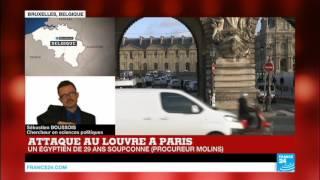 """Attaque au Louvre à Paris : """"la France est la première cible…"""