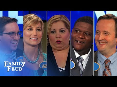 Top 5 TMI Moments! | Family Feud