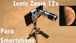 Lente Para Celular Zoom 12x Para Smartphone Testado no Quantum Go Review