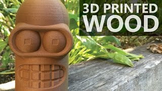 Filamentive WOOD PLA Review