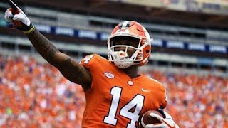 Can't Guard This 😈 This OFFICIAL Diondre Overton Clemson Highlights ᴴᴰ