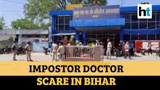 Covid-19: Scare At Gaya Hospital As Alleged Fake Doctors Enter Special Ward