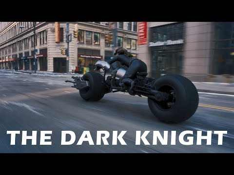 The Dark Knight - Motorcycle Full Scene [HD]. Catwoman On Banman's Motorcycle. Batpod