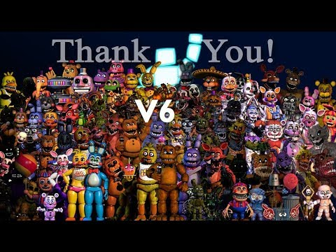 All fnaf characters