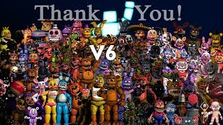 All FNAF Characters Sing The FNAF Song V6