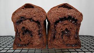 핸드믹서로 만드는 초코미니식빵 chocolate chi…